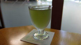 文珠荘松露亭の朝食は松葉ジュースで始まる@天橋立・京都
