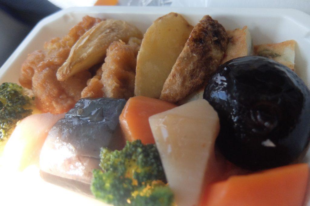 ANA国際線の機内食