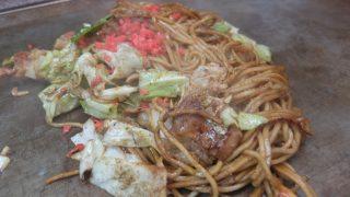 お好み焼吉野でホソ焼きそばと油かす玉@三十三間堂のおすすめディープランチ・京都