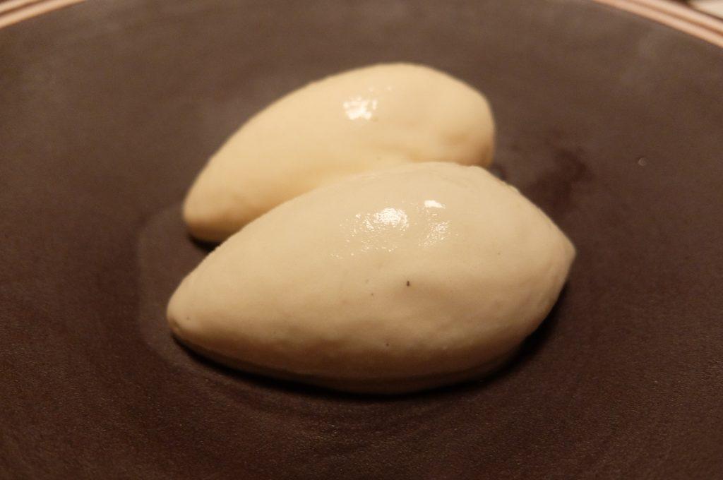 修善寺あさば茄子と生姜のアイスクリーム