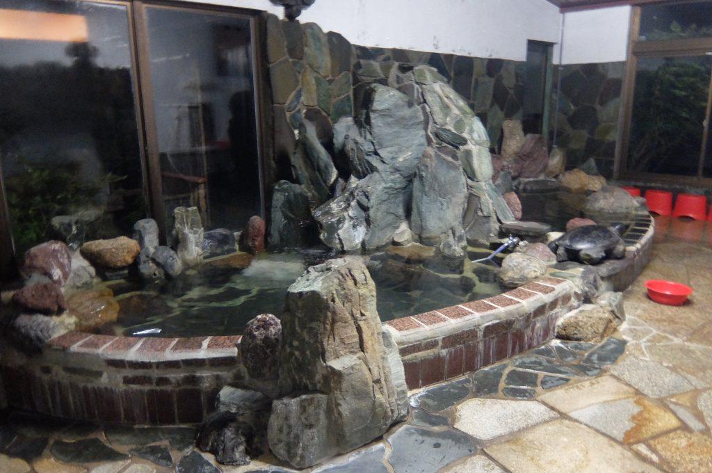 恵那ラジウム温泉館風呂