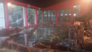 恵那ラヂウム温泉館宿泊記;民家風離れと岩風呂を素泊まりで楽しむ@恵那市・岐阜県