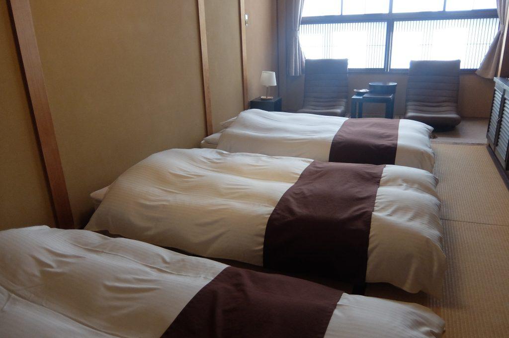 穂高荘 山の庵の部屋